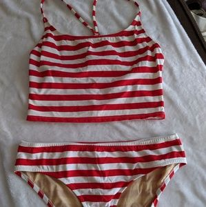 JCrew Two piece swimsuit